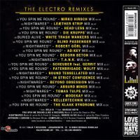 THE ELECTRO REMIXES - back cover